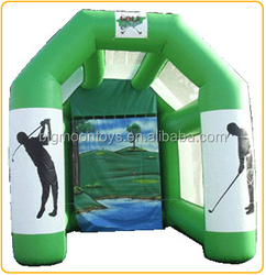 hot selling inflatable golf shooting tent / giant sport inflatable shoot tent