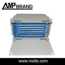 AMPbrand fiber optic 1u odf | distribution fiber management