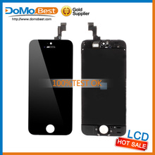 2015 New Mobile phone front housing display for iphone 5s