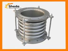 cina produttore esportazione rettangolare in acciaio inox a soffietto compensatore ondulato
