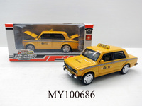 custom door open 14.5cm scale model taxi car,metal yellow taxi car toy