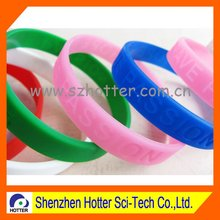 beautiful rubber wristbands