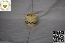 New products in china market colored color wicker basket with handle round