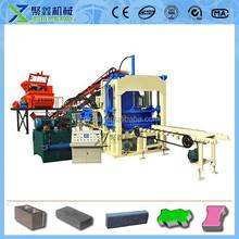 construction equipment qt4-15c concrete block making semi automatic machine price