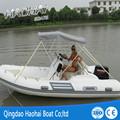 (CE)RIB470cm Casco deportivo de fibra de vidrio de alta presión de material de pvc y barco de pesca.