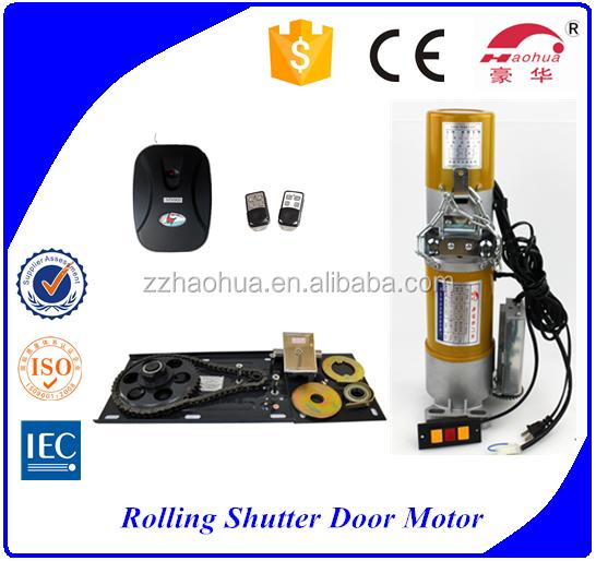 Ac roller shutter side motor central roller door motor for Rolling shutter motor price