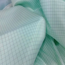 120gsm 100% polyester material Antistatic cleanroom fabric