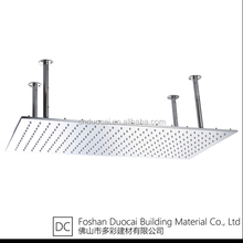 China Big Rectangle Water Waving LED Ceiling Shower Heads (BT-L6030FL)