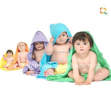 soft cotton baby hooded bath towel
