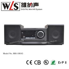 WLS mini hi-fi de dvd combo MHF--1001G cReproductor portátil de dvd con el bluetooth
