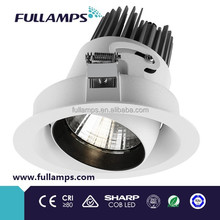 New 33W adjustable COB LED Downlight with aluminum