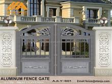 AJLY-601 Hot selling Aluminium main gate designs for homes