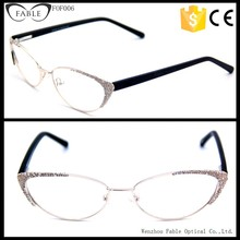 Cat eye frames spectacles with crystals beautiful glasses frames