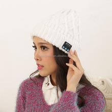 2015 knitted Bluetooth warm Beanie hat, handfree phone call, wireless Bluetooth handfree knit hat
