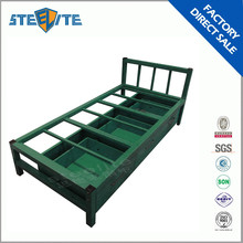 Hot Sale Knock Down Good design Steel Pipe Single Bed