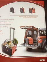 2012 hot selling Plastic supermarket trolley