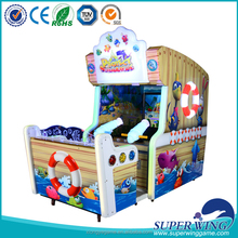 Perfect innovative coin operated water shooting game,kids electric video game machines for sale