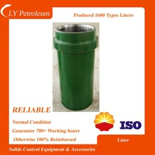 new condition oillfield equipment f 500/f 800/f 1000/ f 1300 cylinder liners for mud pump