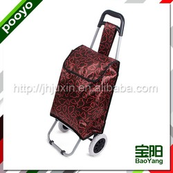 high quality shopping trolley bag large capacity the plastic parts of the baske