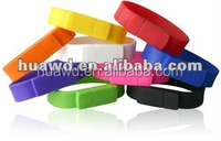 Full Capacity Silicone Bracelet usb Flash Drive,Medical ID Bracelet usb 2gb ,OEM Bracelet Wrist usb