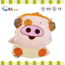 The most satisfying plush toys product,The pink headphones pigs