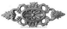 European style sandblasted iron casting components