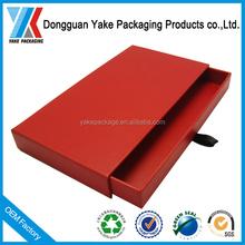 Custom luxury decorative cardboard sliding drawer packaging gift box wholesale!