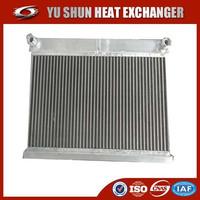 china supplier aluminum plate fin oil radiator cover
