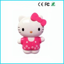Cartoon Cute kitty 5200mAh power bank mobile portable charger for any mobile