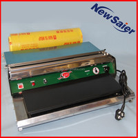 Manual food film wrapper