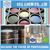 Factory color thick liquid for embroidered sash leather finishing agent