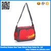 Red cheap nylon school walking messenger bag china manufacturer