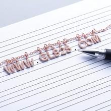 DIY fashion Sliver letter charm Bracelets with Sliver Crystal Rhinestone for 925 sterling silver