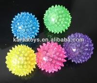 Kid toys TPR flashing bouncy ball