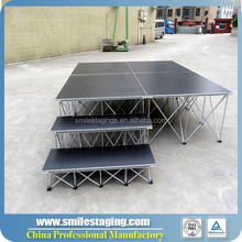 deluxe used portable staging