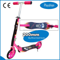 Two wheels 200mm kick scooter /200mm aluminum scooter/big wheel scooter