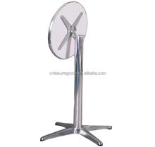 Aluminum round folding Table