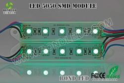 5050 SMD 5LEDs LED Module Green / blue / red Waterproof Light Advertising lamp DC 12V solar module price