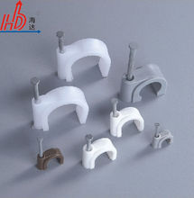 A Grade Circle Cable Clips,Nail Cable Clips Clamp HDSR-7mm