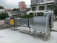 Restaurant Grease and Smoke Control Device