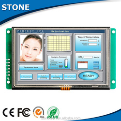 10 inch industrial intelligent UART LCD module for medical alarm system and beauty equipment