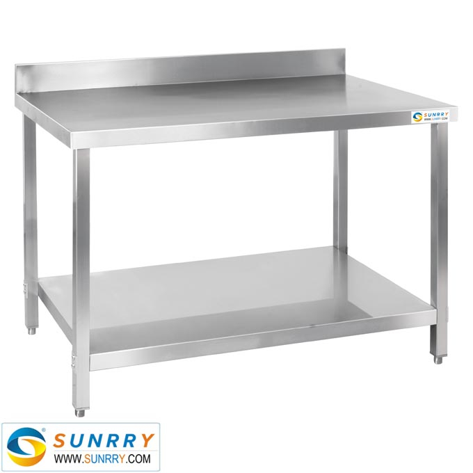Kitchen Work Table With Drawers Heavy Duty Stainless