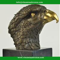Alibaba Italia black eagle sculpture