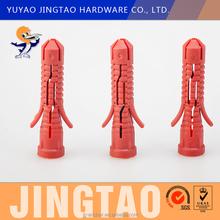 Yuyao hardware city New type plastic red fisher screw plug plastic button screw cap tube Price