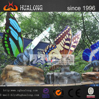 playground equipment animal electric butterfly