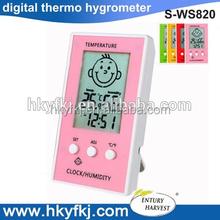 Станция погоды вход / выход термогигрометр часы температура термометры ( S-WS820 )
