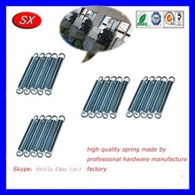 customized zinc plated steel high elasticity trampoline tension spring,ss compression spring for motor control parts