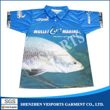 Breathable full sublimation polyester polo shirts