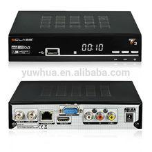Existencias para T3 Clase S mejores que AZ América S1005 Receptor con doble sintonizador Servicio de llaves Satelital & Servicio de desbloqueo por internet para América del Sur
