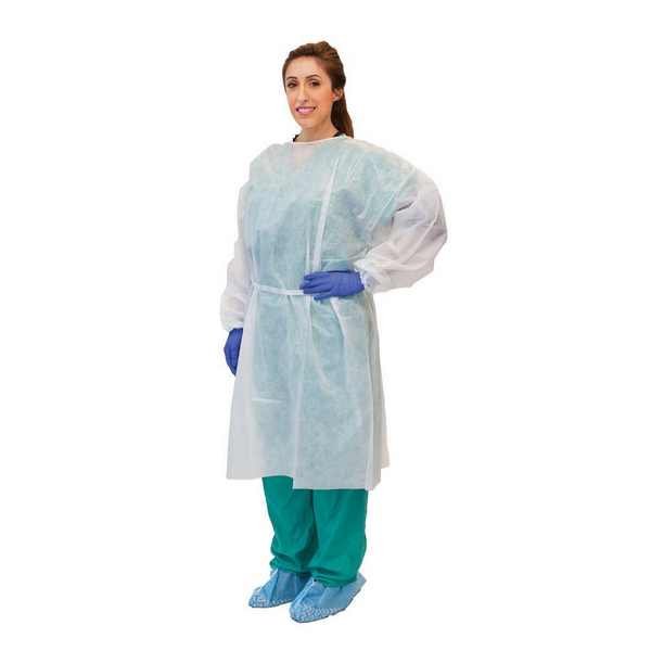 Protective Clothing Disposable Hospital Gowns Comfortable Wearing ...
